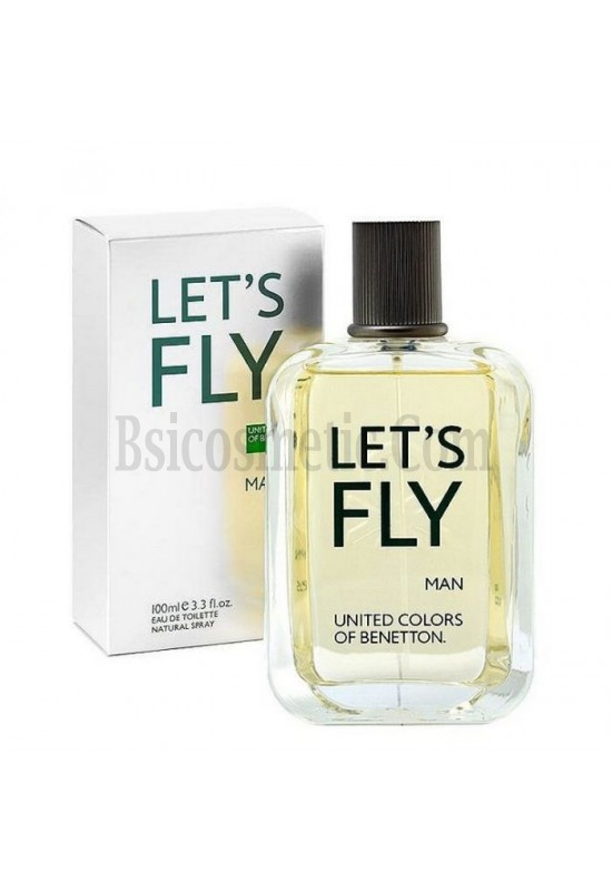 Benetton let's fly за мъже-EDT