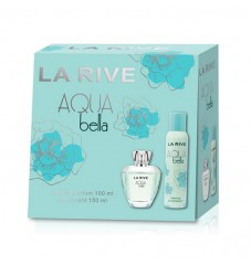 La Rive Комплект Aqua Bella /EDP 100 мл + дезодорант 150 мл/