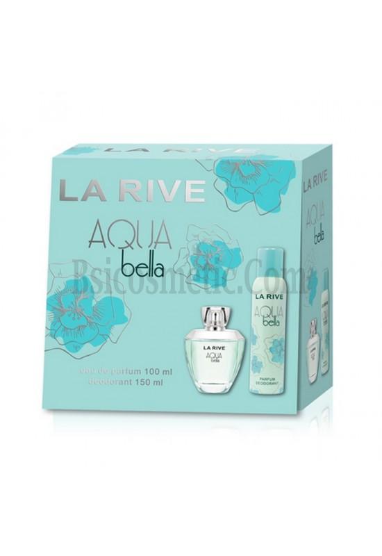 La Rive Комплект Aqua Bella /EDP 100 мл + дезодорант 150 мл/