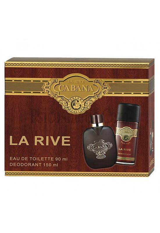 La Rive Комплект Cabana /EDT 90 мл + дезодорант 150 мл/