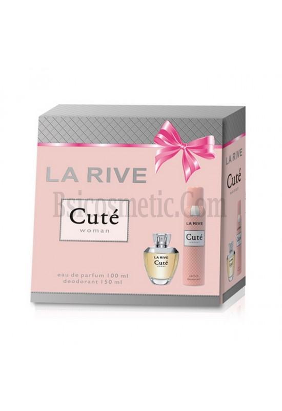 La Rive Комплект Cute /EDP 100 мл + дезодорант 150 мл/