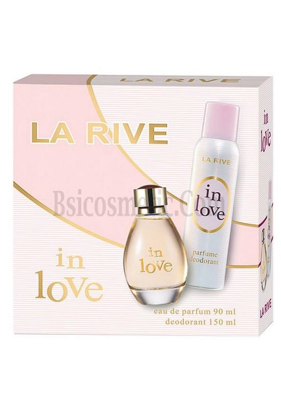 La Rive Комплект In Love /EDP 90 мл + дезодорант 150 мл/