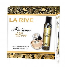 La Rive Комплект Madame in Love /EDP 90 мл + дезодорант 150 мл/