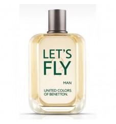 Benetton Let's Fly за мъже без опаковка - EDT