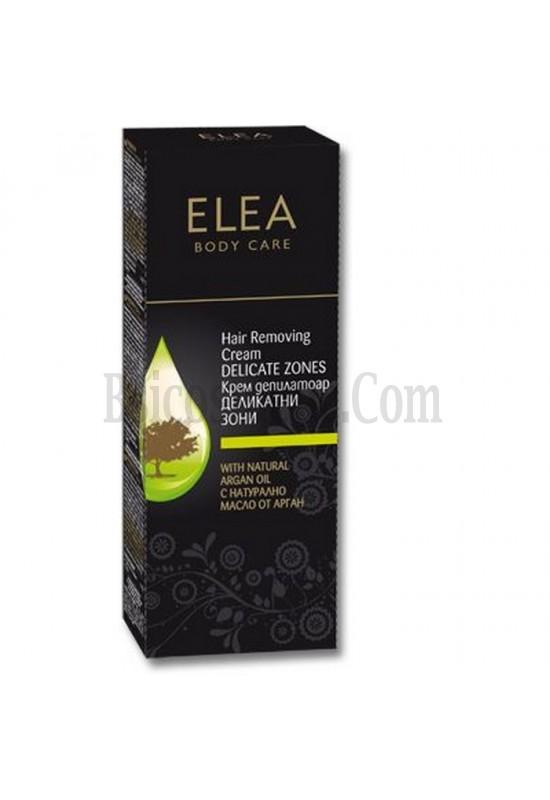 ELEA Депилиращ крем за тяло с Арганово масло за деликатни зони - 75 мл