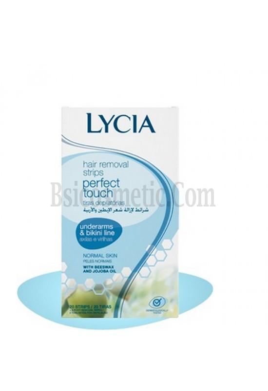 Lycia Депилиращи ленти за чувствителни зони за нормална кожа - 20 бр.