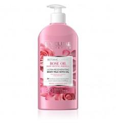 Eveline Мляко за тяло с розово олио 350 мл