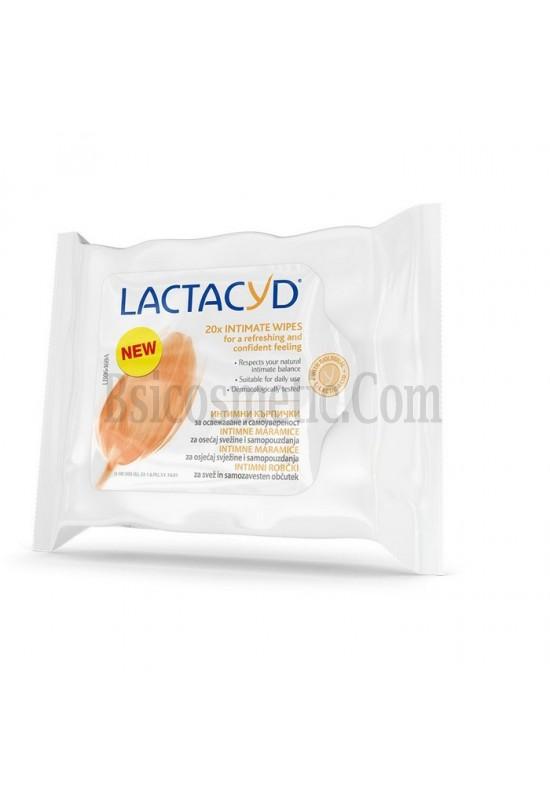 Lactacyd Интимни кърпички 20 бр в пакет