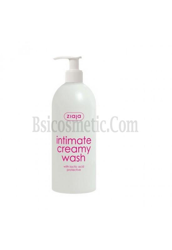 Ziaja Интимен кремообразен душ гел с млечна киселина - помпа 500мл