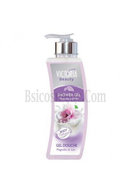 Victoria Beauty Душ гел магнолия и мляко 400 мл.