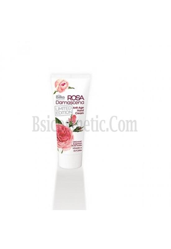 Bilka Крем За Ръце Rosa Damascena Подмладяващ Anti-Age - 100 мл.