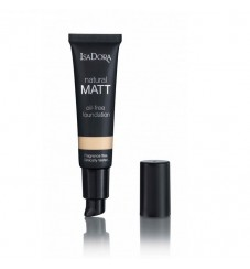 Матиращ фон дьо тен IsaDora Natural Matt Oil Free Foundation