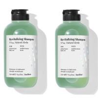 Комплект 2 броя Ревитализиращ билков шампоан Farmavita Back Bar Revitalizing Shampoo 250мл.