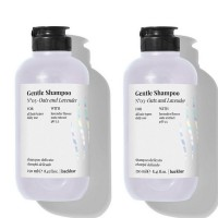 Комплект 2 броя Шампоан за чувствителен скалп с овес и лавандула Farmavita Back Bar Gentle Shampoo 250мл.