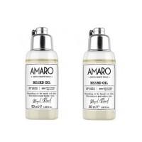 Комплект Подхранващо олио за брада Amaro Bread Oil - 2 броя