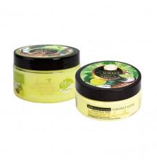 Комплект Скраб и Сорбе за тяло с масло от Бабасу и аромат на Лайм и Кокос Linea Bio