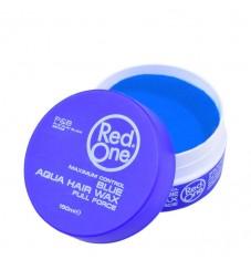 Red One Aqua Wax Blue Вакса за коса 150 мл