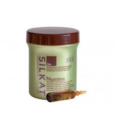 Възстановяващи ампули за суха и увредена коса BES Silkat Nutritivo N4 Treatment