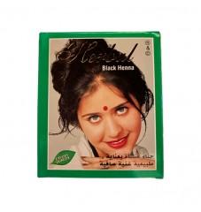 Индийска къна за коса Herbul Черно