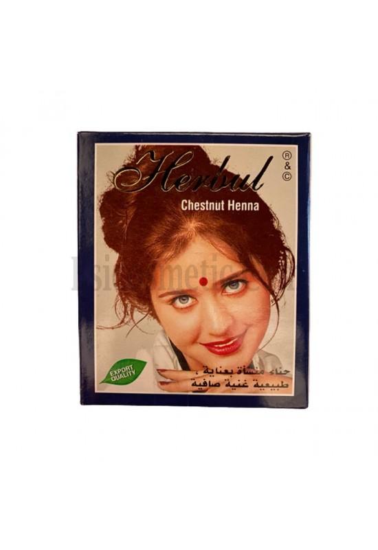 Индийска къна за коса Herbul Кестен