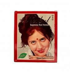 Индийска къна за коса Herbul Супер Червено