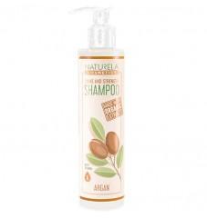 Безсулфатен натурален шампоан за блясък и подхранване Naturela Cosmetics
