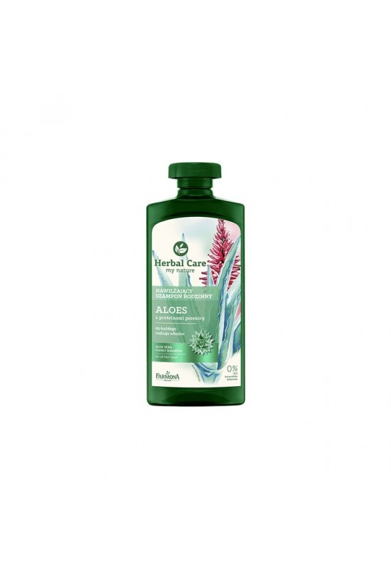 Хидратиращ шампон алое с пшеничен протеин Farmona Herbal Care