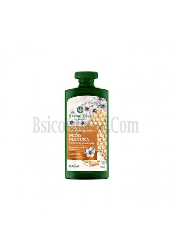Подхранващ шампоан мед от манука с кератин Farmona Herbal Care