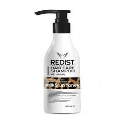 Шампоан за коса с мед и мляко Redist