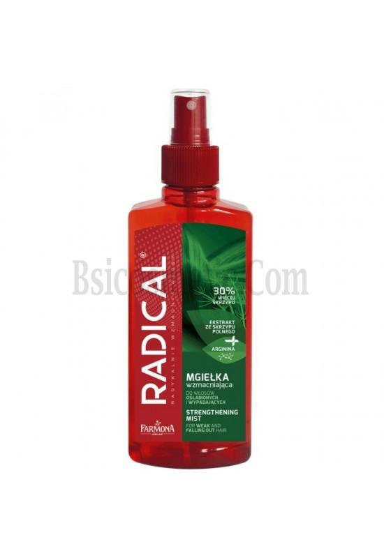 RADICAL Спрей тоник за укрепване на увредена и капеща коса без отмиване