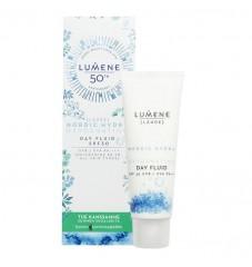 Дълбоко хидратиращ дневен крем-флуид SPF 30 за всеки тип кожа Lumene Lahde Summer