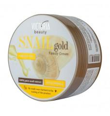 Victoria Beauty Snail Gold Крем за ръце, лице и тяло с охлювен екстракт и арганово масло