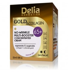 Delia Gold & Collagen 65+  Крем за лице 50 мл