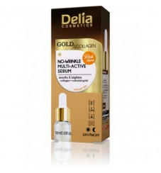 Delia Gold & Collagen Активен серум против бръчки 10 мл