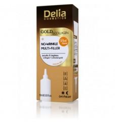 Delia Gold & Collagen Филър крем против бръчки 15 мл