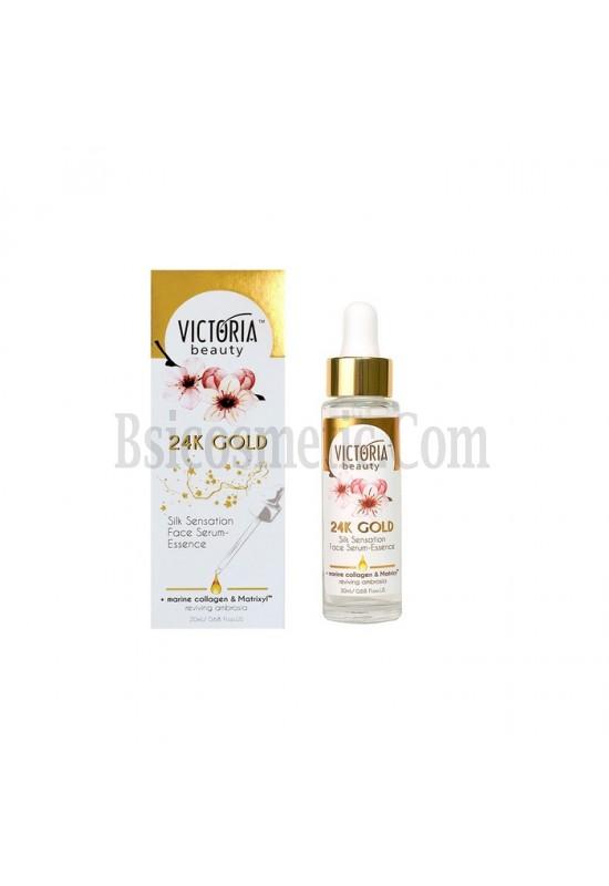 Victoria beauty 24K Gold Серум - есенция за лице с копринено усещане