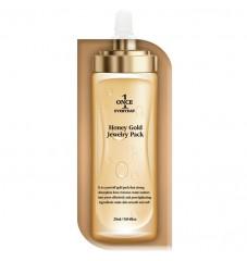 Златна отлепваща Пилинг- маска с мед Chamos Once Everyday Honey Gold Jewelry Pack