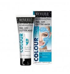 Revuele Colour Glow Биорегулираща се пилинг маска за блясък - синьо 80 мл