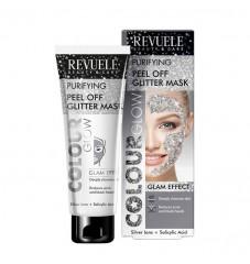 Revuele Colour Glow Почистваща пилинг маска - сива 80 мл