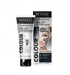 Revuele Colour Glow Подмладяваща пилинг маска - черна 80 мл