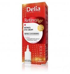 Дневeн и нощен околоочен крем за лице Delia Retino Age