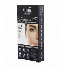 Victoria Beauty Депилиращи ленти за лице Detox 3in1