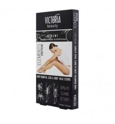 Victoria Beauty Депилиращи ленти за тяло Detox 3in1
