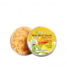 Захарен скраб за лице и тяло с аромат на манго, авокадо и киви Agiva
