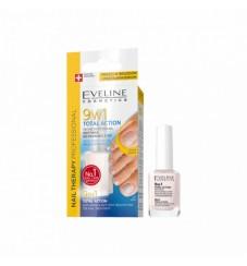 Eveline Foot Nails Therapy Балсам за грижа на ноктите на ходилата 9в1 Total Action