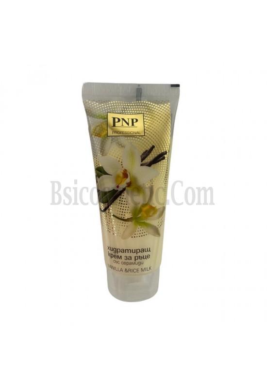 PNP Хидратиращ крем за ръце със серамиди Vanilla & Rice milk