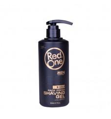 Red One Shaving gel Gold Силно овлажняващ гел за бръснене 500 мл